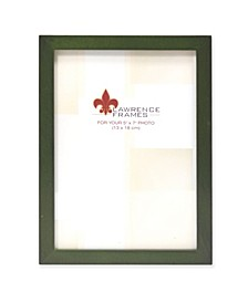 """Green Wood Picture Frame - Gallery Collection - 5"""" x 7"""""""