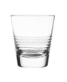 Qualia Glass Scandal Double Old Fashioned Glasses, Set Of 4
