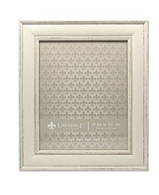 "Weathered Ivory Picture Frame - Domed Top - 8"" x 10"""