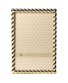 "Golden Rope Picture Frame - 4"" x 6"""