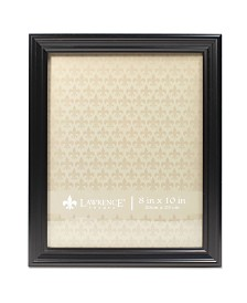 """Lawrence Frames Classic Detailed Black Picture Frame - 8"""" x 10"""""""