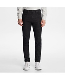 Karl Lagerfeld Paris Men's Slim Fit Denim Pant With Studding Detail