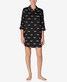 DKNY Printed Boyfriend Sleepshirt