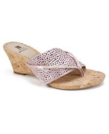 White Mountain Alexandria Wedge Sandals
