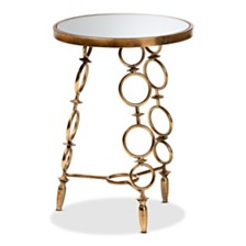 Inaya Accent Table, Quick Ship