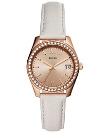 Women's Scarlette Mini Sand Leather Strap Watch 32mm