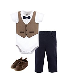 Bodysuit, Pant and Shoe Set