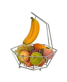 Kitchen Details Geode Fruit Basket with Banana Tree