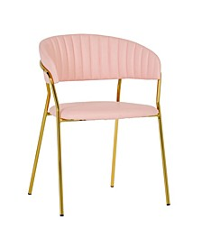 TOV Padma Vegan Leather Chair - Set of 2