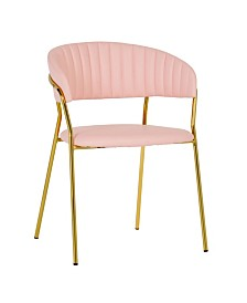 Padma Vegan Leather Chair - Set of 2