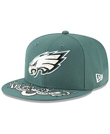 New Era Little Boys Philadelphia Eagles Draft 59FIFTY Fitted Cap