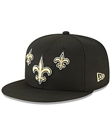 New Era Little Boys New Orleans Saints Draft 9FIFTY Snapback Cap