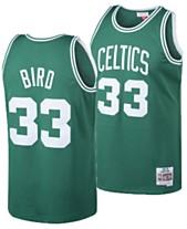 3de0233a08130 Mitchell & Ness Big Boys Larry Bird Boston Celtics Hardwood Classic  Swingman Jersey