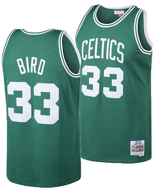low priced 5c6a2 bfcce Big Boys Larry Bird Boston Celtics Hardwood Classic Swingman Jersey