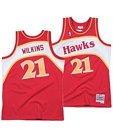Big Boys Dominique Wilkins Atlanta Hawks Hardwood Classic Swingman Jersey