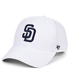 San Diego Padres White MVP Cap
