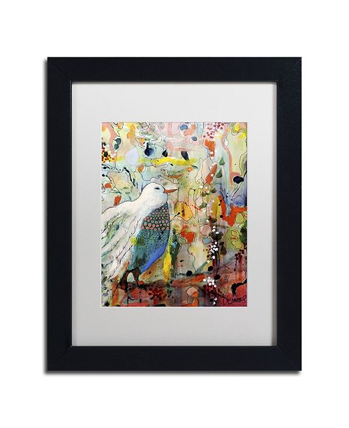 "Trademark Global Sylvie Demers 'Vers Toi' Matted Framed Art - 11"" x 14"" x 0.5"""