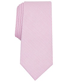 Bar III Men's Petal Stripe Skinny Tie, Created for Macy's