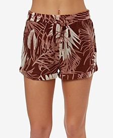 Juniors' Dante Printed Soft Shorts