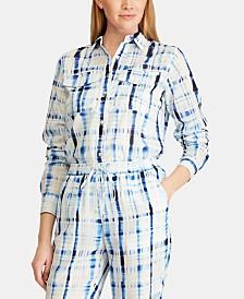 Lauren Ralph Lauren Voile Cotton Shirt