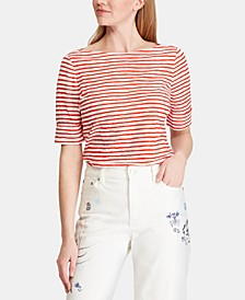 Striped Lightweight Top