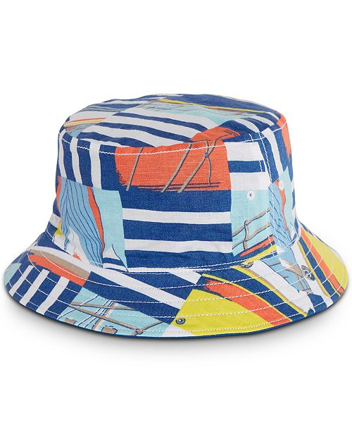 Nautica Men's Graphic Bucket Hat, Created for Macy's