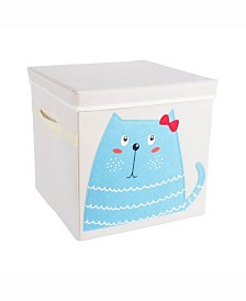 Kid Cube Kitty, Square with Lid