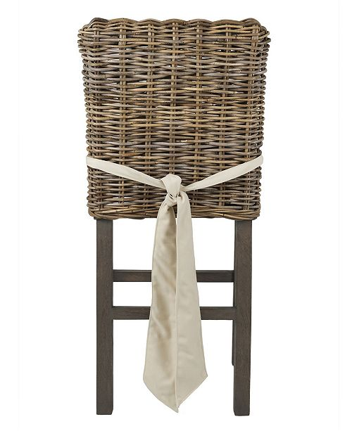 Admirable Dyer Rattan Counter Stool Squirreltailoven Fun Painted Chair Ideas Images Squirreltailovenorg