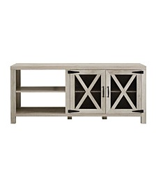 "58"" Industrial Farmhouse Tv Stand"