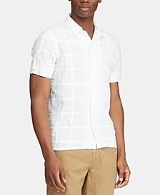 Men's Custom Fit Patchwork Shirt