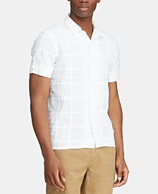 Polo Ralph Lauren Men's Custom Fit Patchwork Shirt