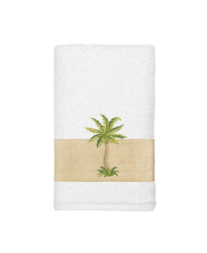 Linum Home - Turkish Cotton Colton Embellished Hand Towel