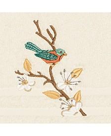 Turkish Cotton Springtime Embellished Hand Towel