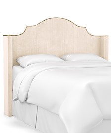 Skylands Collection Paulina King Wingback Headboard, Quick Ship, Created for Macy's