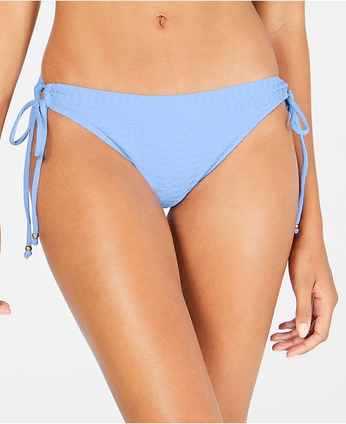 Lucky Brand Shoreline Chic Loop-Side Hipster Bikini Bottoms