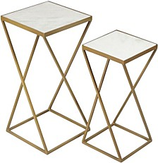 Darby 2pc Table Set, Quick Ship