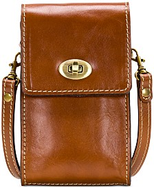 Patricia Nash Heritage Ravell Leather Crossbody