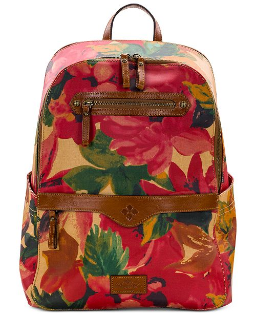 Patricia Nash Coated Canvas Karina Backpack