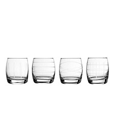Old Fashion Glass - Set of 4