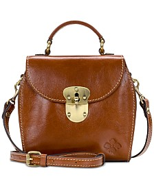 Patricia Nash Heritage Brionne Leather Crossbody