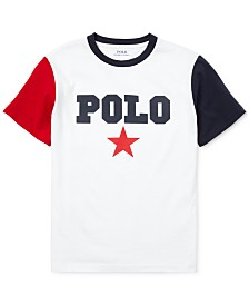 Polo Ralph Lauren Toddler Boys Logo Graphic T-Shirt