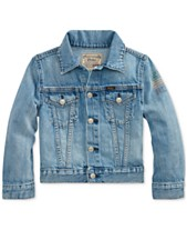 cc06b4fd8017 Polo Ralph Lauren Big Boys Cotton Denim Trucker Jacket
