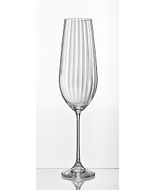 Red Vanilla Viola Optic Red Wine Glass 18.5 Oz, Set of 6