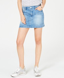 MICHAEL Michael Kors Denim Mini Skirt