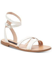 STEVEN by Steve Madden Women's Matas Strappy Flat Sandals