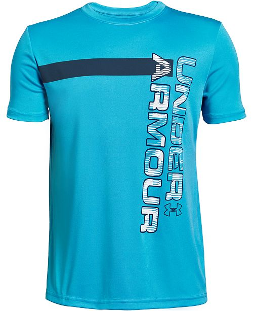Under Armour Big Boys Word Mark Graphic T-Shirt