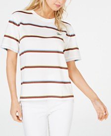 Lacoste Cotton Striped T-Shirt