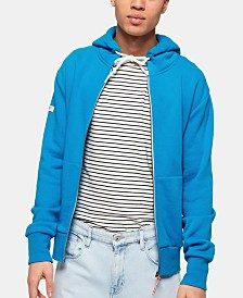 Superdry Men's L.A. Athletics Blue Full-Zip Hoodie
