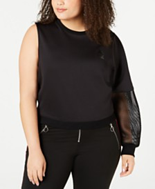 La La Anthony Trendy Plus Size The Vixen Sweatshirt