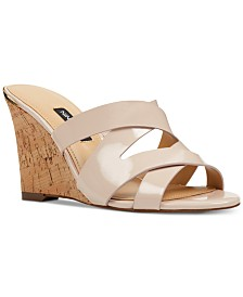 Nine West Lila Cork Wedges